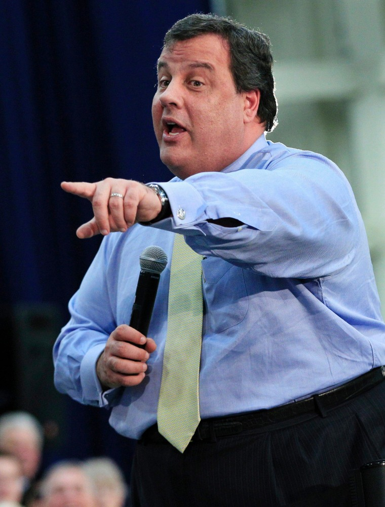Christie: I'm governor of all New Jerseyans