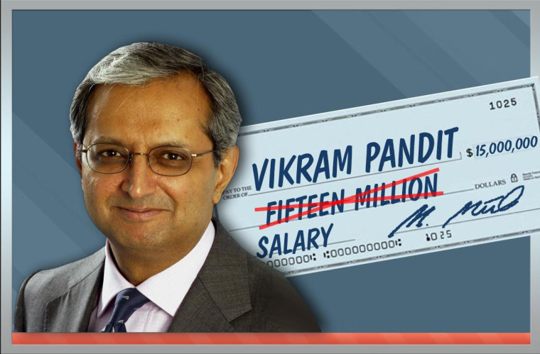Citigroup Shareholders to CEO Pandit: Sorry, Vikram