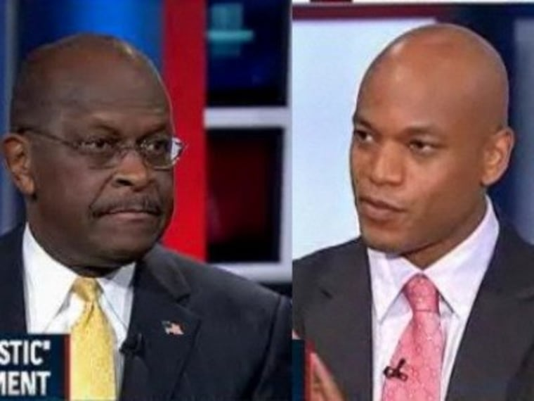 Cain on racial overtones: 'There's nothing there'