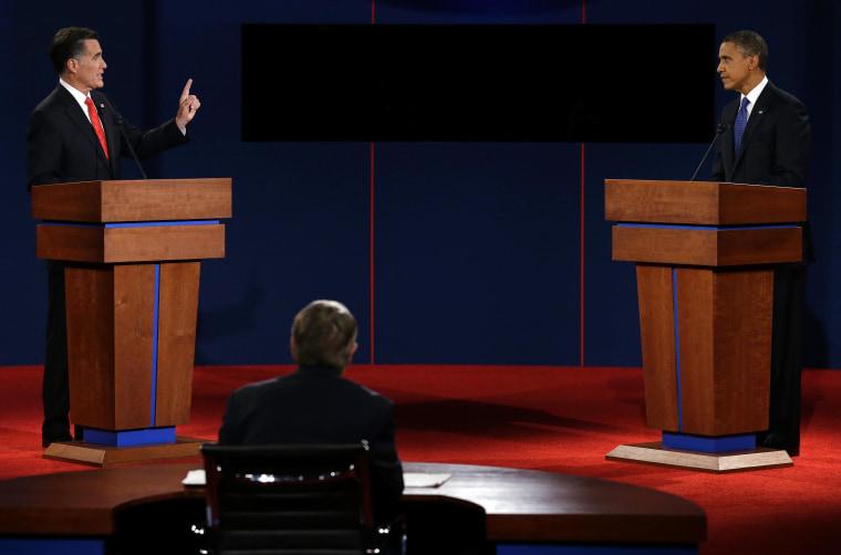 Romney wins the debate but can he follow through?