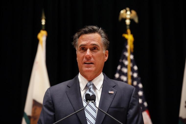 Mitt Romney's mess