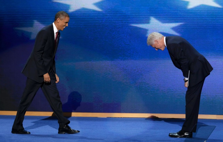 Final Spin: President Clinton hits it out of the park