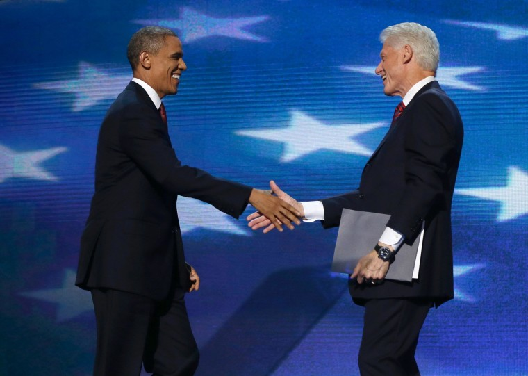 Bill Clinton delivers DNC pitch for President Obama