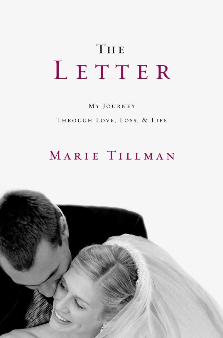 An excerpt from Pat Tillman's letter to Marie Tillman