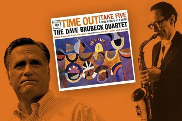 'Time Out' Mitt, you're no jazz virtuoso