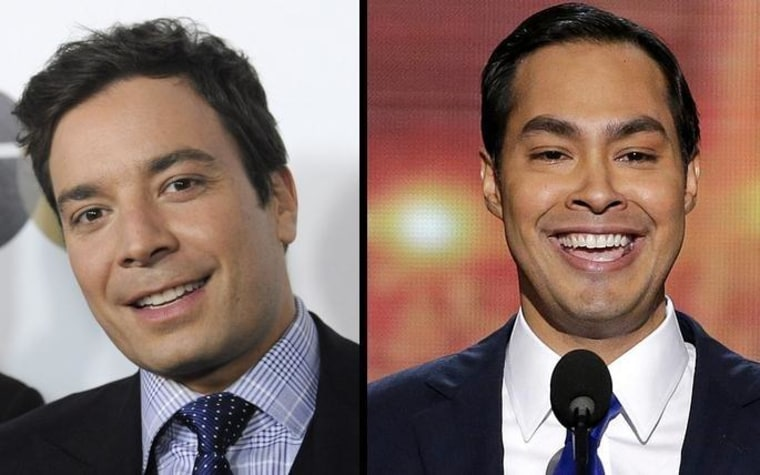 Mayor Julian Castro or Jimmy Fallon?