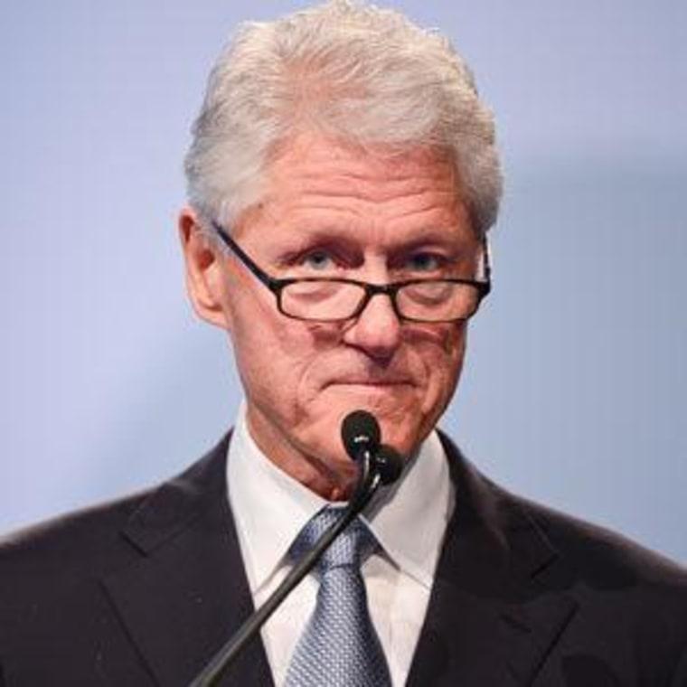 Former President Bill Clinton (file)