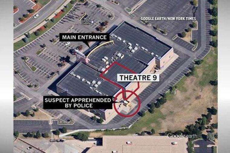 Gunman opens fire in theater, kills 12