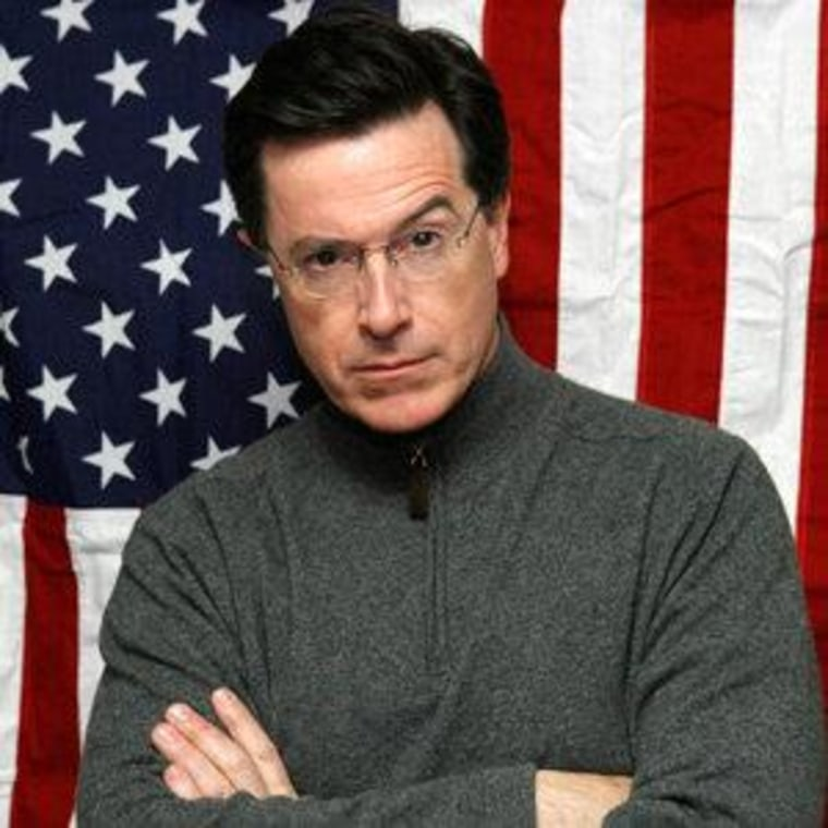 Stephen Colbert is a sexy woman