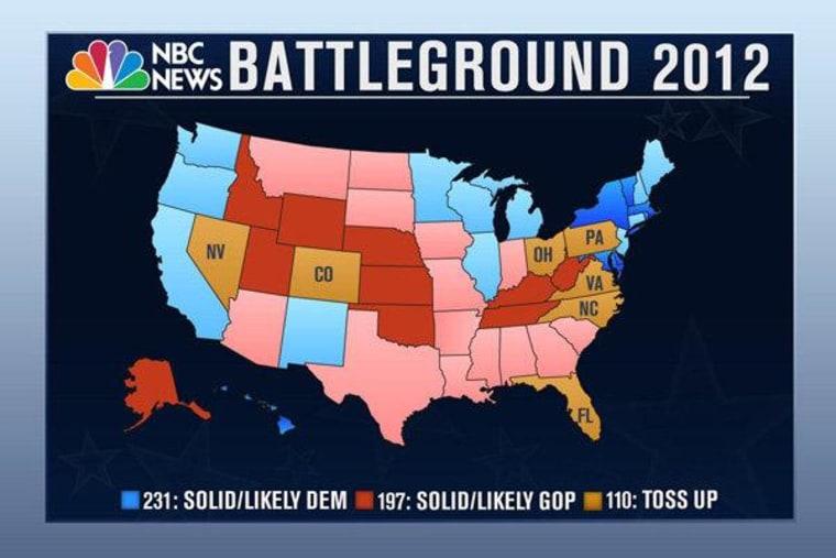 The shrinking battleground state map
