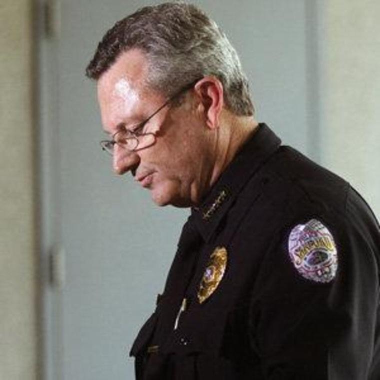 Sanford Police Chief Bill Lee (file)