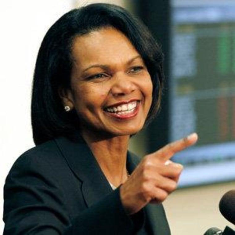 Condoleezza Rice (file)