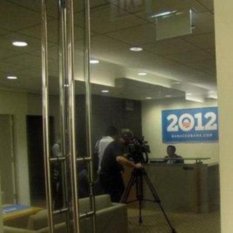 NBC Chicago got a tour of the Obama Campaign Headquarters.
