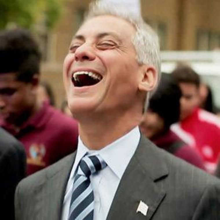 Chicago Mayor Rahm Emanuel (file)