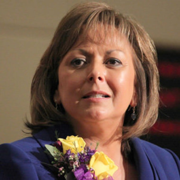 New Mexico Gov. Susana Martinez (file)