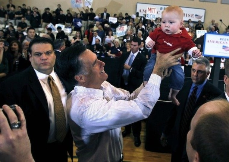 Better babysitter: Obama or Romney?