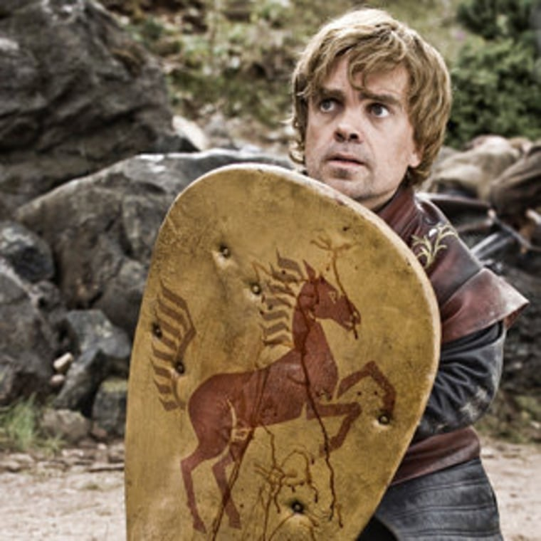 """Peter Dinklage as \""""Tyrion Lannister\"""" in Game of Thrones"""