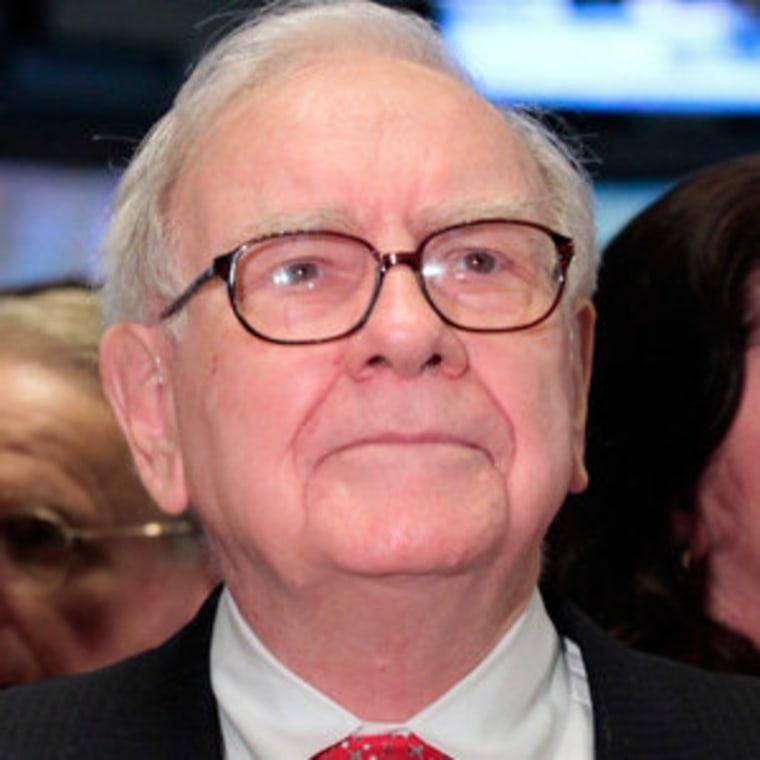 Warren Buffett (file)
