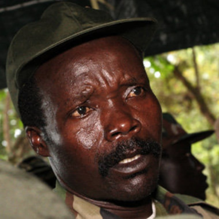 Leader of the Lord's Resistance Army Joseph Kony in 2006 (file)