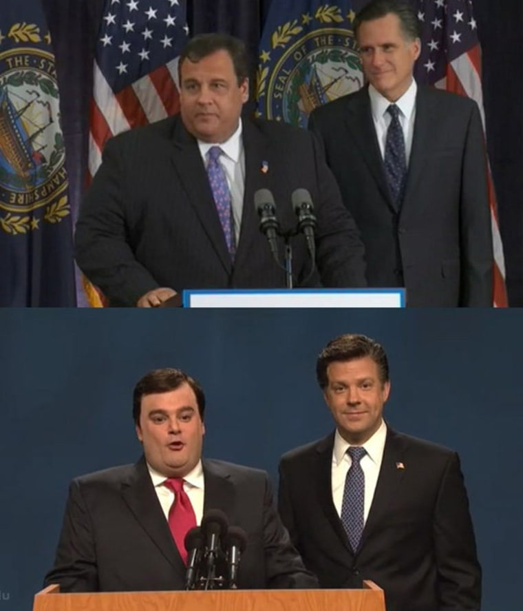 Chris Christie(s) and Mitt Romney(s)