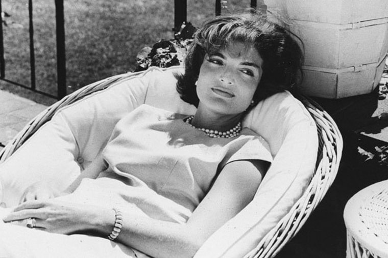 First Lady Jacqueline Kennedy in 1961.