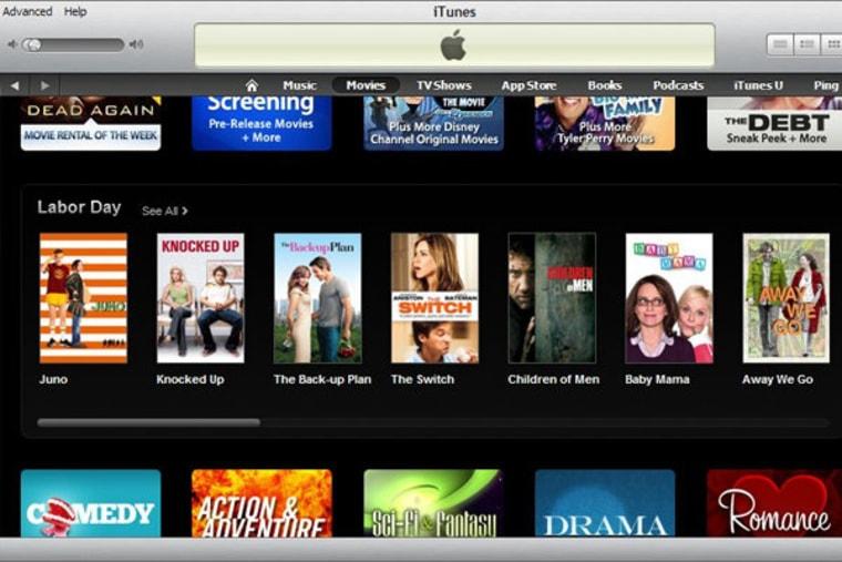 Semantics of iTunes Labor Day picks