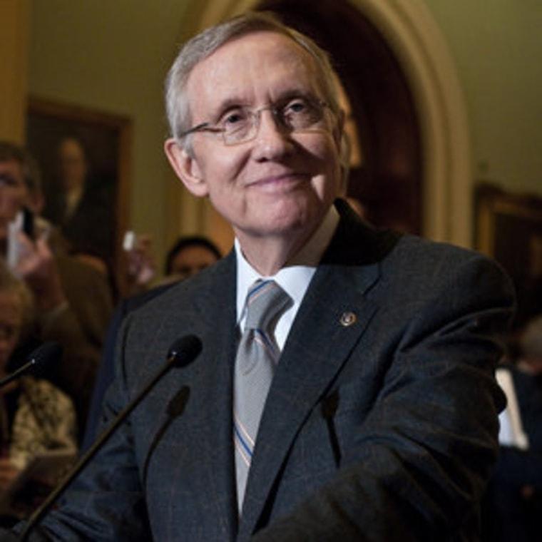 Senate Majority Leader Harry Reid (file)