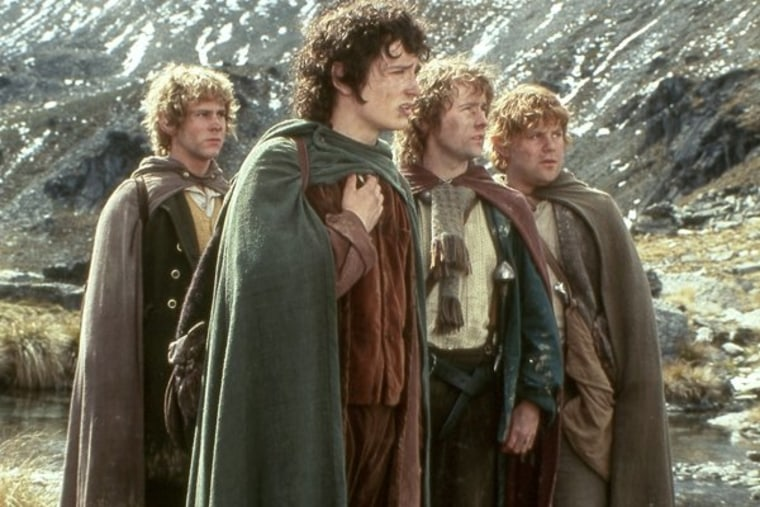 """A scene from New Line Cinema's """"The Lord of the Rings: Fellowship of the Ring."""""""