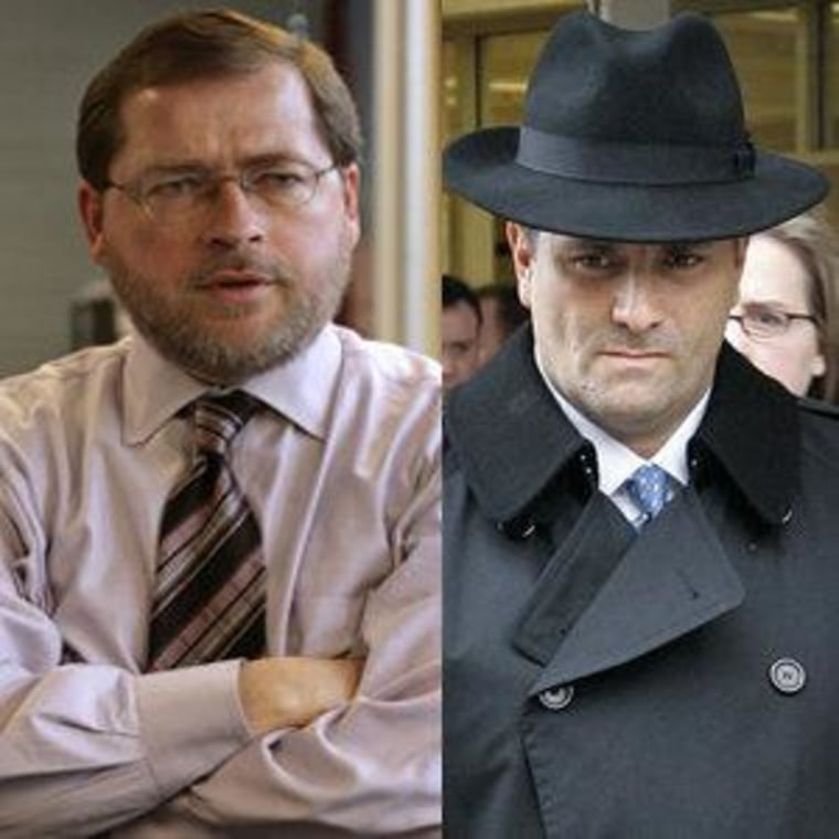 Grover Norquist and Jack Abramoff (file)
