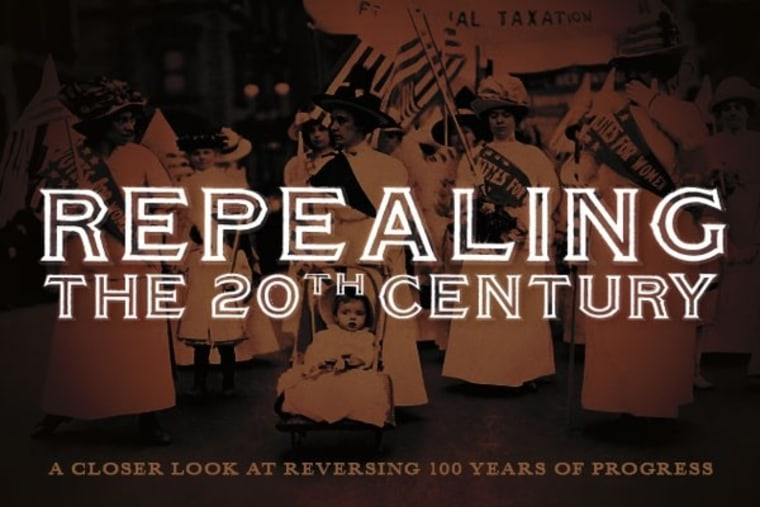 Repealing the 20th Century