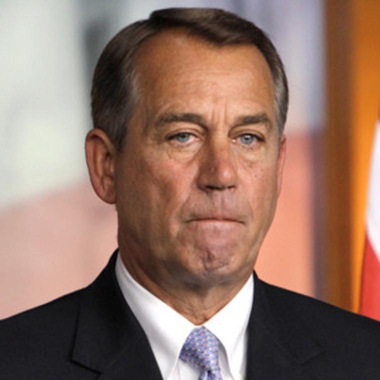 House Speaker John Boehner (file)