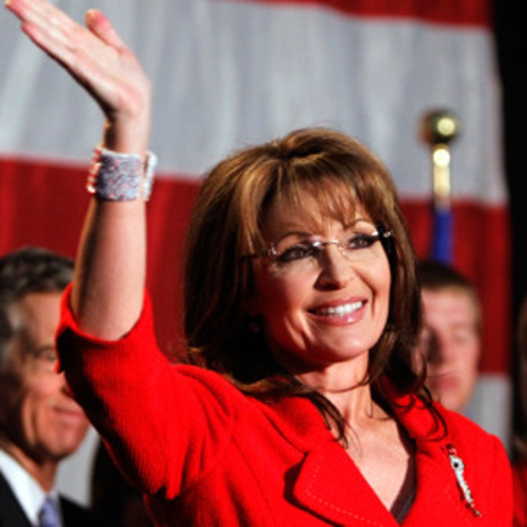 Sarah Palin would like to thank the Academy