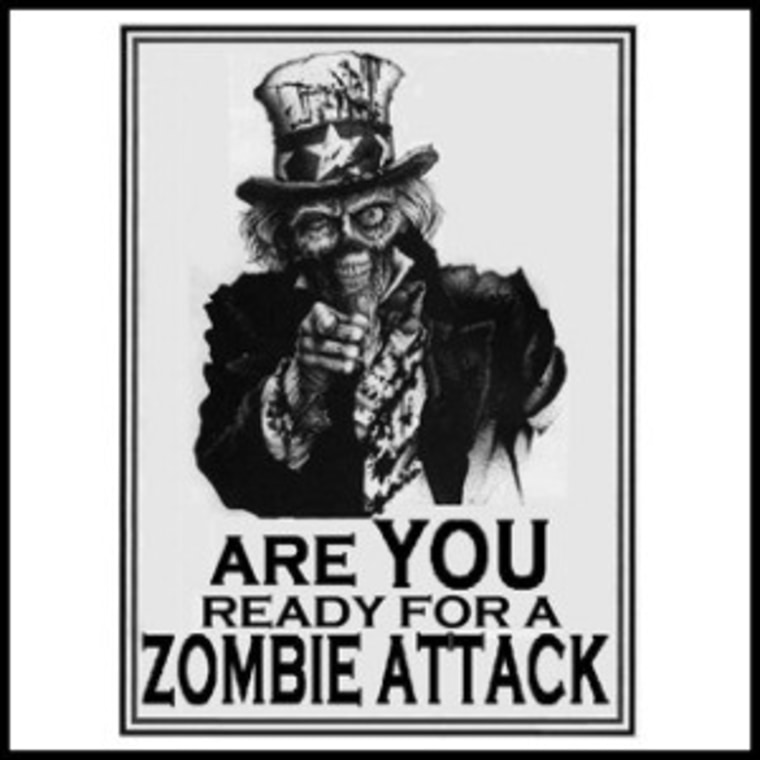 CDC releases plan for zombie attack