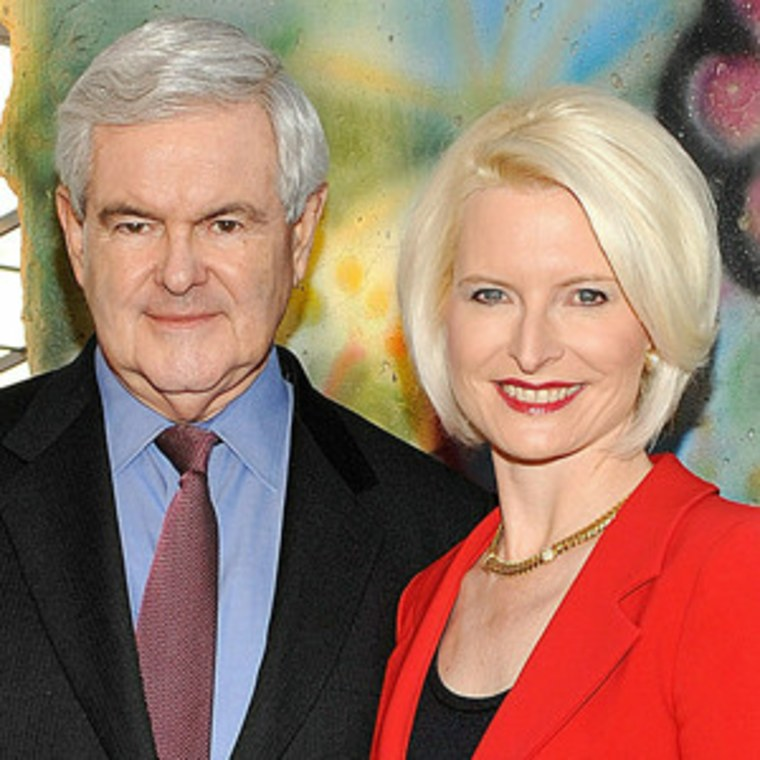 Newt and Callista Gingrich (file)