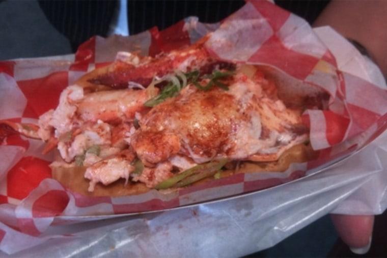 Mmmmmm.....lobster roll.