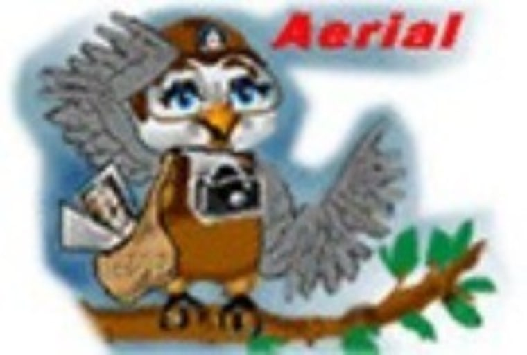 """""""Aerial Recon,"""" one of the kid-friendly CIA characters."""