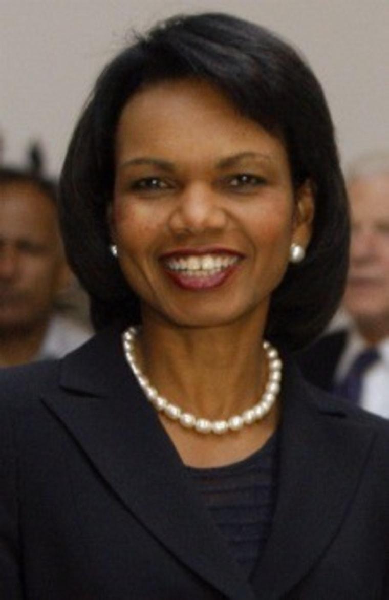 Condoleezza Rice gets The Last Word