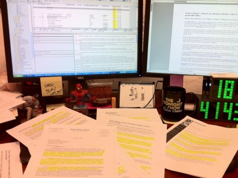 One of these days I'm going to clean my desk...