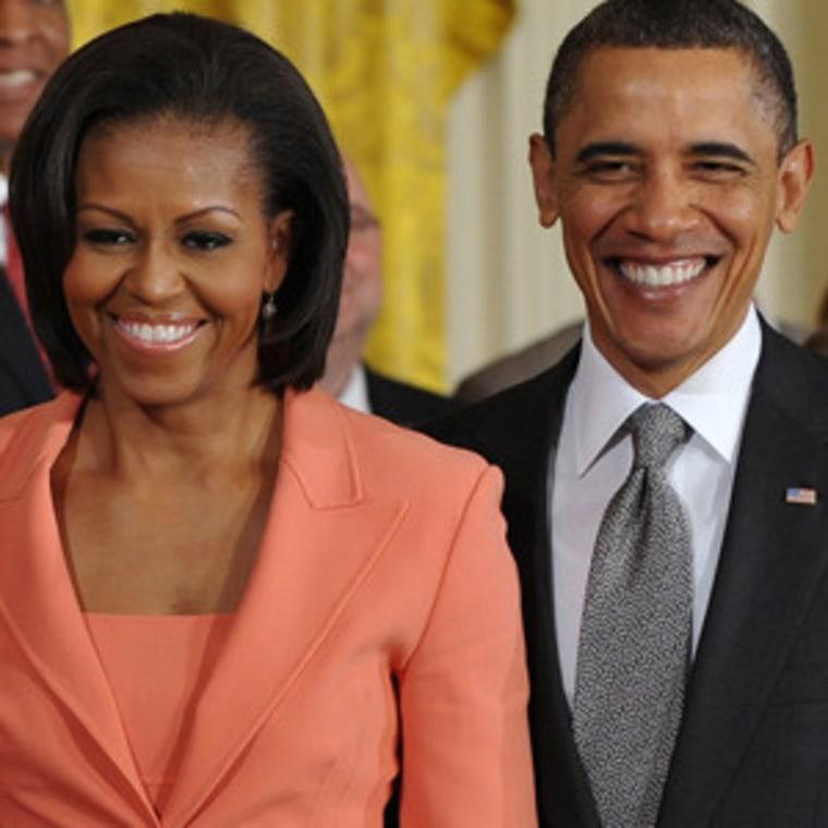 The Obamas (file)