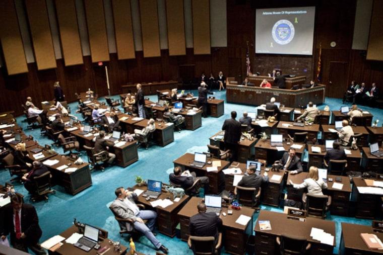 The Arizona House of Representatives (file)
