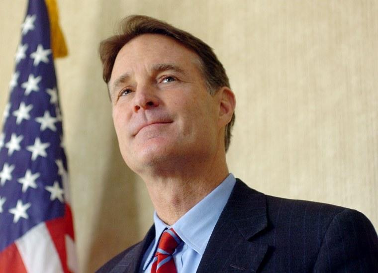 Former Senator Evan Bayh.