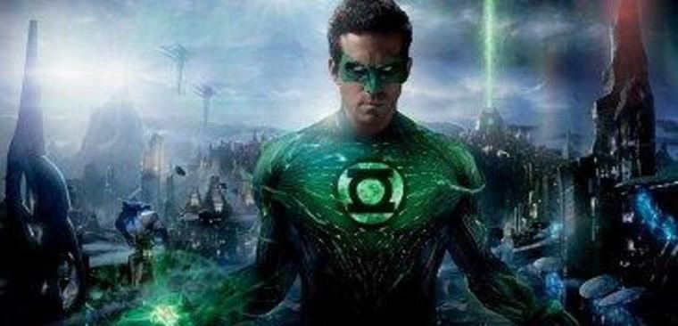 The Green Lantern Theory runs rampant