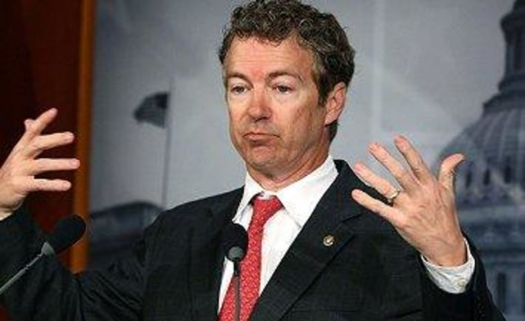 The secret memo that only Rand Paul understands