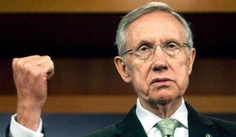 Reid's 'nuclear' shot across the GOP's bow
