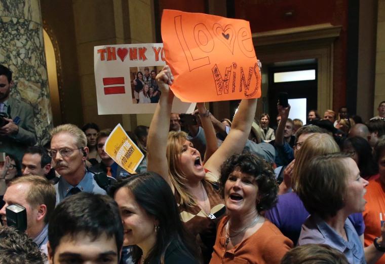 Minnesota passes same-sex marriage