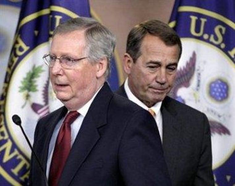 Boehner, McConnell block their own Medicare goals