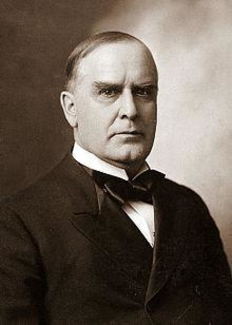 Leave President McKinley alone!