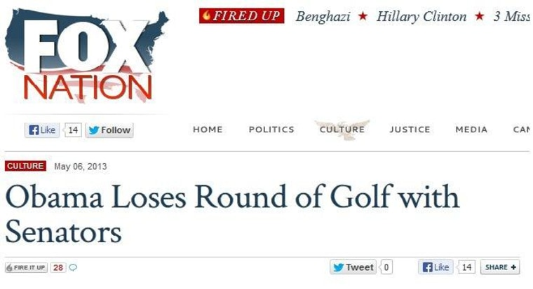 TRMS Infoxication Challenge: Presidential Golfing Edition RESULTS