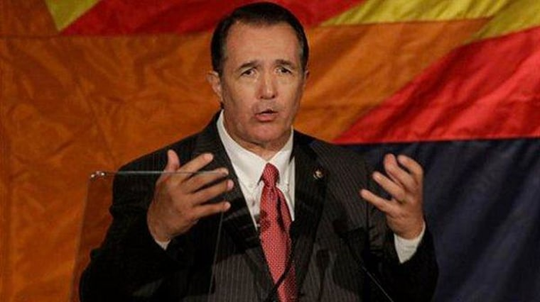 Trent Franks laments 'spin dryer'