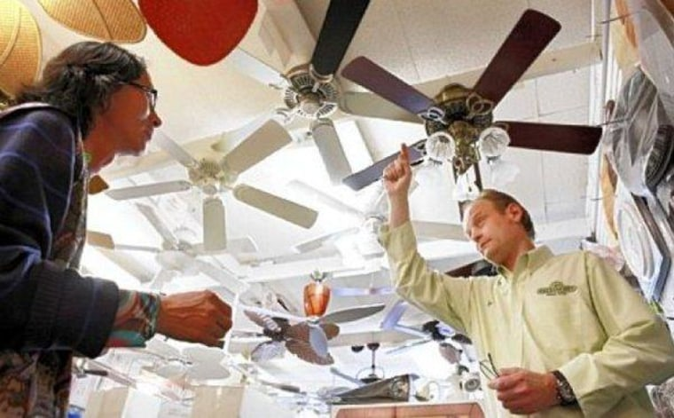 Making the transition from light bulbs to ceiling fans